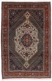Bakhtiar Vloerkleed 204X314 Echt Oosters Handgeknoopt Donkerrood/Donkergrijs/Donkerbruin (Wol, Perzië/Iran)