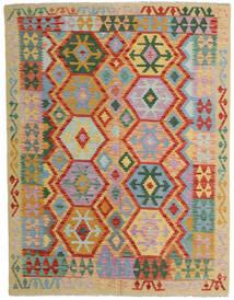 Kelim Afghan Old Style Vloerkleed 152X198 Echt Oosters Handgeweven Lichtgrijs/Rood (Wol, Afghanistan)