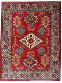 Kazak Vloerkleed 152X198 Echt Oosters Handgeknoopt Donkerrood/Donkerbruin (Wol, Afghanistan)