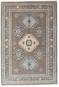 Kazak Vloerkleed 117X173 Echt Oosters Handgeknoopt Lichtgrijs/Donkergrijs (Wol, Afghanistan)
