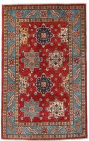 Kazak Vloerkleed 118X188 Echt Oosters Handgeknoopt Donkerrood/Donkerbruin (Wol, Afghanistan)