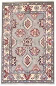 Kazak Vloerkleed 118X182 Echt Oosters Handgeknoopt Donkergrijs/Lichtgrijs (Wol, Afghanistan)