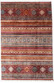 Sharbargan Vloerkleed 208X312 Echt Modern Handgeknoopt Donkerrood/Donkerbruin (Wol, Afghanistan)