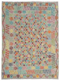 Kelim Afghan Old Style Vloerkleed 184X245 Echt Oosters Handgeweven (Wol, Afghanistan)