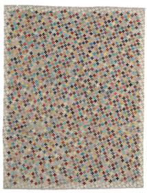Kelim Afghan Old Style Vloerkleed 183X234 Echt Oosters Handgeweven Lichtgrijs/Bruin (Wol, Afghanistan)