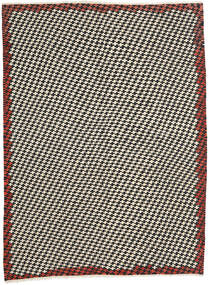 Kelim Moderne Vloerkleed 213X287 Echt Modern Handgeweven Beige/Zwart (Wol, Afghanistan)