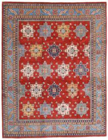 Kazak Vloerkleed 240X308 Echt Oosters Handgeknoopt Roestkleur/Licht Paars (Wol, Afghanistan)