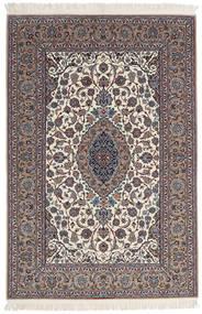 Isfahan Zijden Pool Getekend Sanai Dust Vloerkleed 152X225 Echt Oosters Handgeknoopt Lichtgrijs/Beige (Wol/Zijde, Perzië/Iran)