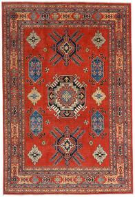 Kazak Vloerkleed 207X305 Echt Oosters Handgeknoopt Roestkleur/Donkerrood (Wol, Afghanistan)