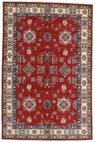 Kazak Vloerkleed 182X275 Echt Oosters Handgeknoopt Roestkleur/Donkerrood (Wol, Afghanistan)