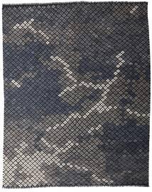 Kelim Moderne Vloerkleed 233X288 Echt Modern Handgeweven Donkergrijs (Wol, Afghanistan)
