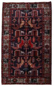 Hamadan Vloerkleed 131X213 Echt Oosters Handgeknoopt Donkerrood (Wol, Perzië/Iran)
