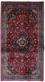Kashmar Vloerkleed 109X198 Echt Oosters Handgeknoopt Donkerrood (Wol, Perzië/Iran)