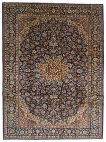Najafabad Vloerkleed 275X367 Echt Oosters Handgeknoopt Donkergrijs/Zwart Groot (Wol, Perzië/Iran)