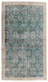 Vintage Heritage Vloerkleed 112X197 Echt Modern Handgeknoopt Lichtgrijs/Turquoise Blauw (Wol, Perzië/Iran)