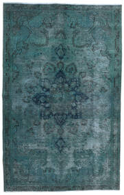 Vintage Heritage Vloerkleed 147X233 Echt Modern Handgeknoopt Donker Turkoois/Blauw (Wol, Perzië/Iran)