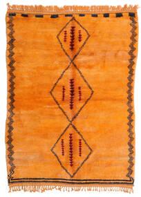 Berber Moroccan - Mid Atlas Vloerkleed 190X265 Echt Modern Handgeknoopt Oranje (Wol, Marokko)