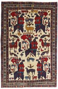 Afshar Vloerkleed 126X188 Echt Oosters Handgeknoopt Donkergrijs/Donkerrood (Wol, Perzië/Iran)