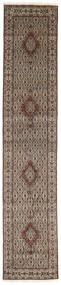 Moud Vloerkleed 80X395 Echt Oosters Handgeknoopt Tapijtloper (Wol/Zijde, Perzië/Iran)