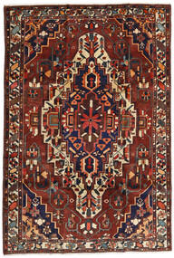 Bakhtiar Vloerkleed 201X296 Echt Oosters Handgeknoopt Donkerrood/Donkerbruin (Wol, Perzië/Iran)
