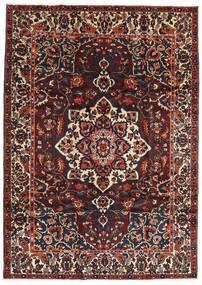 Bakhtiar Vloerkleed 217X306 Echt Oosters Handgeknoopt Donkerbruin/Donkerrood (Wol, Perzië/Iran)