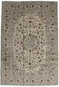 Keshan Vloerkleed 246X357 Echt Oosters Handgeknoopt Donkerbruin/Zwart (Wol, Perzië/Iran)
