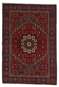 Gholtogh Vloerkleed 107X154 Echt Oosters Handgeknoopt Donkerrood/Donkerbruin (Wol, Perzië/Iran)