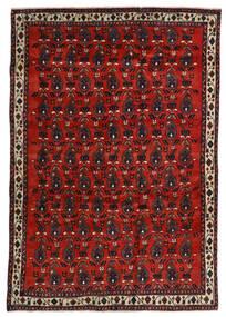 Afshar Vloerkleed 172X250 Echt Oosters Handgeknoopt Donkerrood/Roestkleur (Wol, Perzië/Iran)