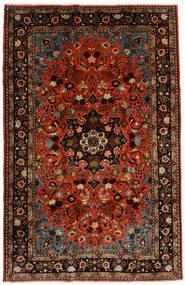Mehraban Vloerkleed 188X290 Echt Oosters Handgeknoopt Donkerrood/Roestkleur (Wol, Perzië/Iran)