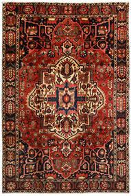 Bakhtiar Vloerkleed 214X316 Echt Oosters Handgeknoopt Donkerbruin/Donkerrood (Wol, Perzië/Iran)