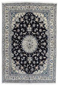 Nain Vloerkleed 166X248 Echt Oosters Handgeknoopt Donkergrijs/Zwart (Wol, Perzië/Iran)
