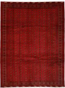 Turkaman Vloerkleed 252X337 Echt Oosters Handgeknoopt Rood/Roestkleur Groot (Wol, Perzië/Iran)