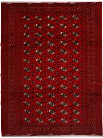 Turkaman Vloerkleed 258X344 Echt Oosters Handgeknoopt Rood/Donkerrood/Donkerbruin Groot (Wol, Perzië/Iran)