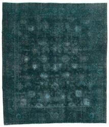 Vintage Heritage Vloerkleed 244X280 Echt Modern Handgeknoopt Donker Turkoois/Blauw (Wol, Perzië/Iran)