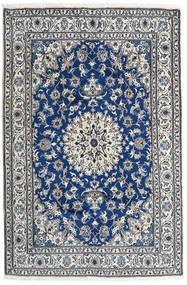 Nain Vloerkleed 162X246 Echt Oosters Handgeknoopt Lichtgrijs/Donkergrijs (Wol, Perzië/Iran)