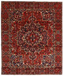 Bakhtiar Vloerkleed 310X370 Echt Oosters Handgeknoopt Donkerrood/Roestkleur Groot (Wol, Perzië/Iran)