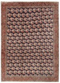 Bidjar Vloerkleed 254X343 Echt Oosters Handgeknoopt Donkerrood/Bruin Groot (Wol, Perzië/Iran)