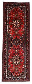 Hamadan Vloerkleed 112X314 Echt Oosters Handgeknoopt Tapijtloper Donkerrood/Roestkleur (Wol, Perzië/Iran)