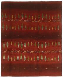 Gabbeh Perzisch Vloerkleed 203X256 Echt Modern Handgeknoopt Zwart/Donkerrood (Wol, Perzië/Iran)