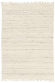 Chinara - Natural/Wit Vloerkleed 200X300 Echt Modern Handgeweven Beige (Wol, India)