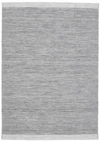 Serafina - Donkergrijs Melange Vloerkleed 160X230 Echt Modern Handgeweven Lichtgrijs/Lichtblauw (Wol, India)
