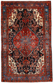 Koliai Vloerkleed 151X237 Echt Oosters Handgeknoopt Donkerrood/Roestkleur (Wol, Perzië/Iran)