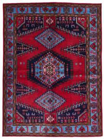 Wiss Vloerkleed 157X211 Echt Oosters Handgeknoopt Donkerrood/Donkerpaars (Wol, Perzië/Iran)