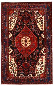 Koliai Vloerkleed 158X255 Echt Oosters Handgeknoopt Donkerrood/Roestkleur (Wol, Perzië/Iran)