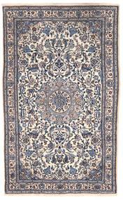 Nain Vloerkleed 151X255 Echt Oosters Handgeknoopt Donkergrijs/Beige (Wol, Perzië/Iran)
