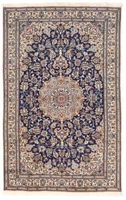 Nain Vloerkleed 155X250 Echt Oosters Handgeknoopt Donkergrijs/Lichtroze (Wol, Perzië/Iran)