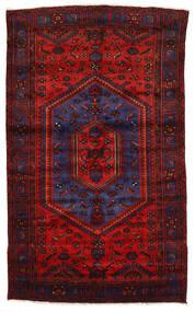 Zanjan Vloerkleed 142X230 Echt Oosters Handgeknoopt Donkerrood/Roestkleur (Wol, Perzië/Iran)