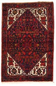 Zanjan Vloerkleed 143X215 Echt Oosters Handgeknoopt Donkerrood/Zwart (Wol, Perzië/Iran)
