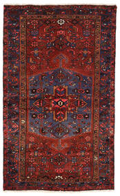 Zanjan Vloerkleed 130X218 Echt Oosters Handgeknoopt Donkerrood (Wol, Perzië/Iran)