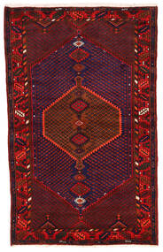 Koliai Vloerkleed 123X198 Echt Oosters Handgeknoopt Donkerrood/Donkerpaars (Wol, Perzië/Iran)